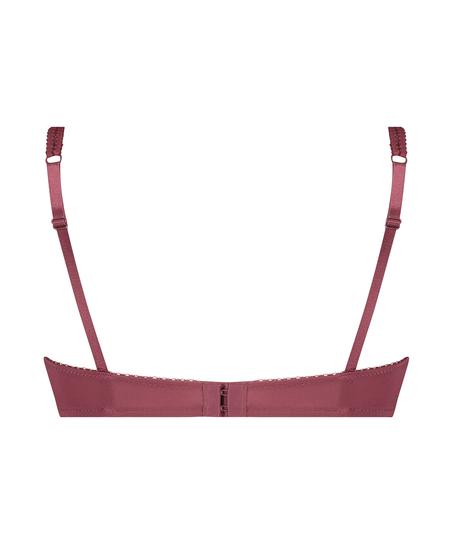 Sujetador de aros preformado Secret lace, Rojo