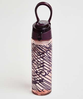 Botella de agua, Morado