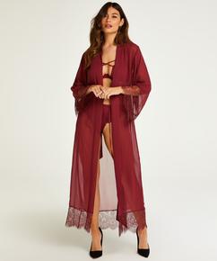 Kimono de gasa Rebecca Mir, Rojo