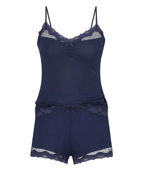 Conjunto de pijama, Azul