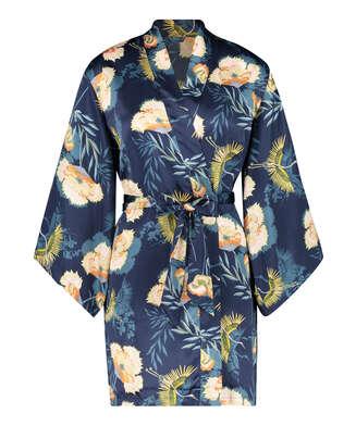 Kimono Lotus Bird, Azul