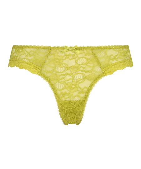Brasileña mini de cintura alta Riley, Verde