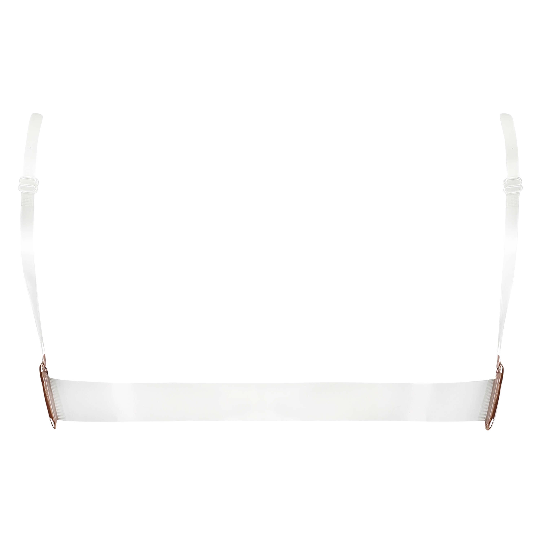 Sujetador push-up de aros preformado Transparent Back, Beige, main