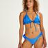 Braguita de bikini de corte alto Suze, Azul