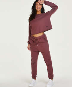 Tall Jogging Sweat French, Rosa