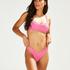 Braguita de bikini de tiro alto Rio Vintage HKM x NA-KD, Rosa