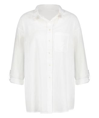Blusa de playa, Blanco