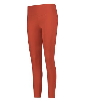 HKMX Mallas de cintura alta Make Me Zen , Rojo