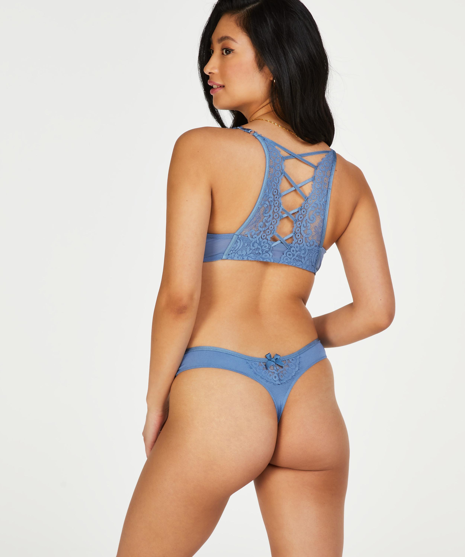 Tanga Cardi, Azul, main