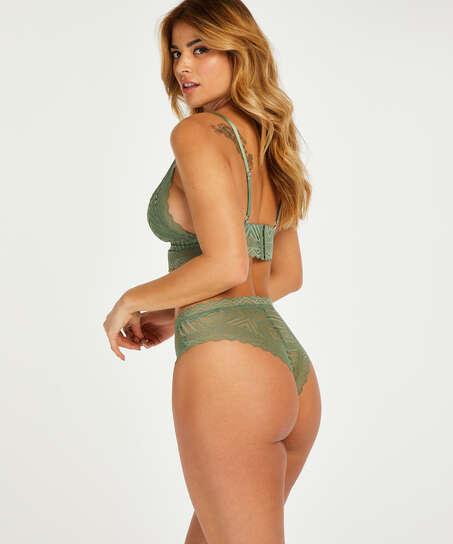 Brasileña de corte alto Filomena I AM Danielle, Verde