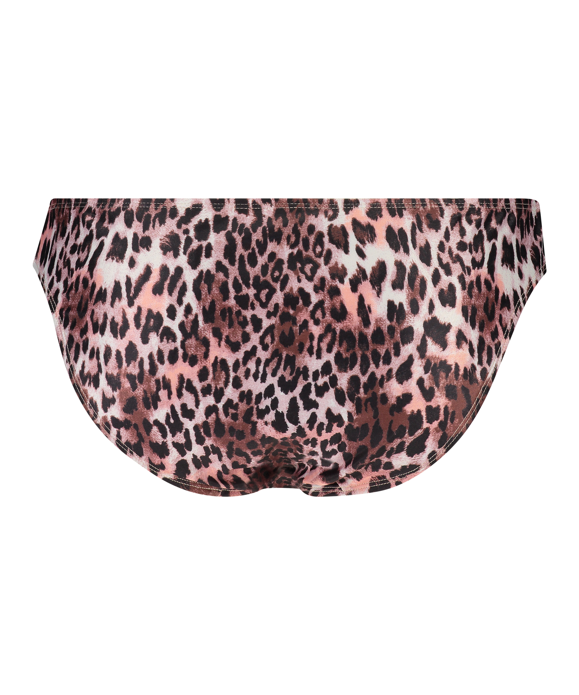 Braguita de bikini rio Leopard, Negro, main