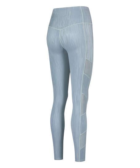 Leggings deportivos de cintura alta HKMX Mojave, Azul