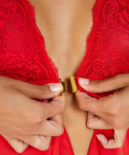 Picardía Satén Mariah , Rojo