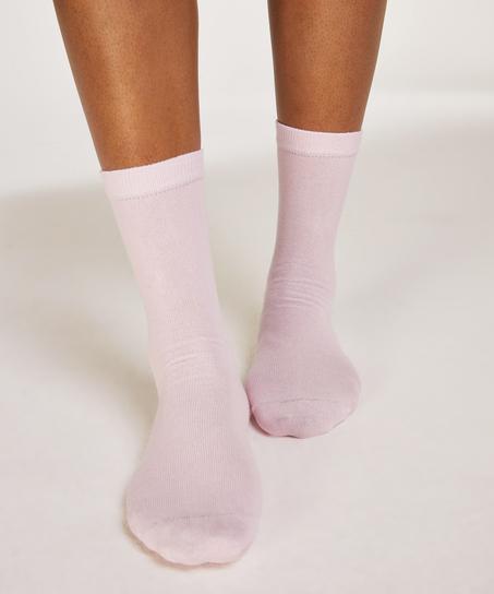 2 pares de calcetines Bow, Negro