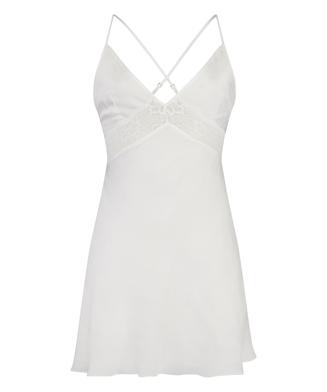 Vestido lencero Nina, Blanco