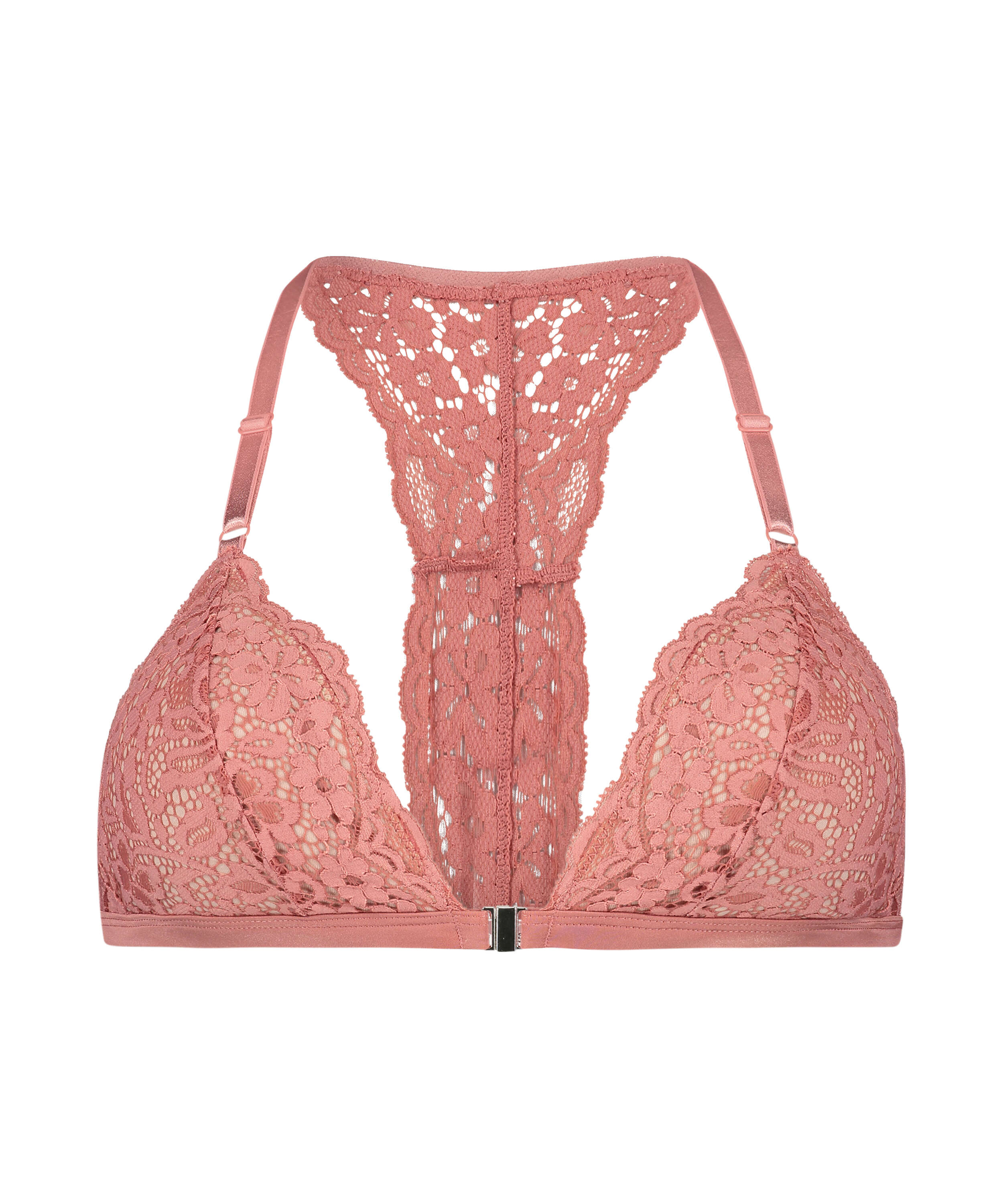 Bralette triangular preformado Rose, Rosa, main