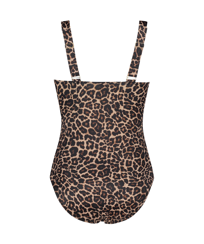 Traje de baño Leopard, Beige, main