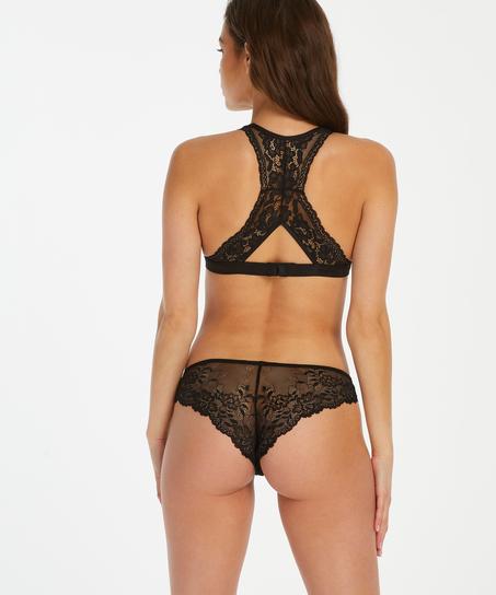 Brasileña Crystal Lace, Negro