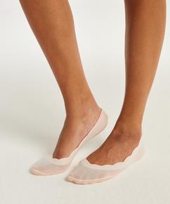 2 pares de calcetines invisibles lasercut, Rosa