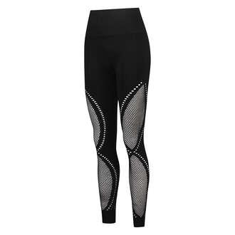 Leggings deportivos de talle alto y sin costuras de HKMX Comfort, Negro
