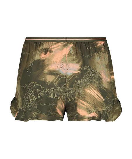 Shorts Twill World, Verde