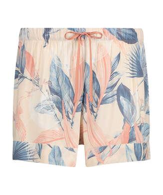 Pantalones cortos Bird Leaf, Beige