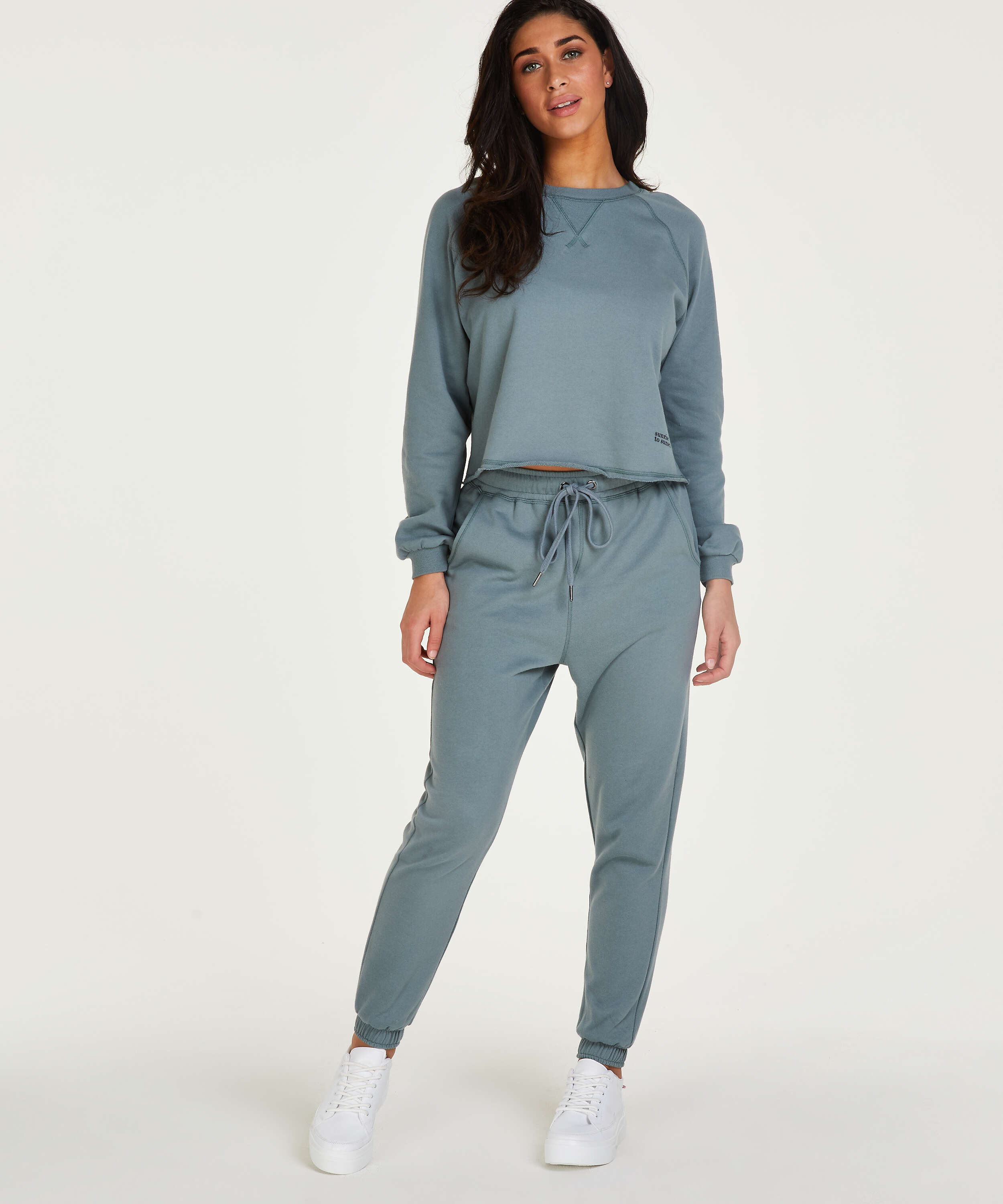 Tall Jogging Sweat French, Verde, main