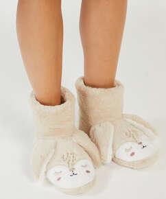 Zapatillas Conejo, Beige