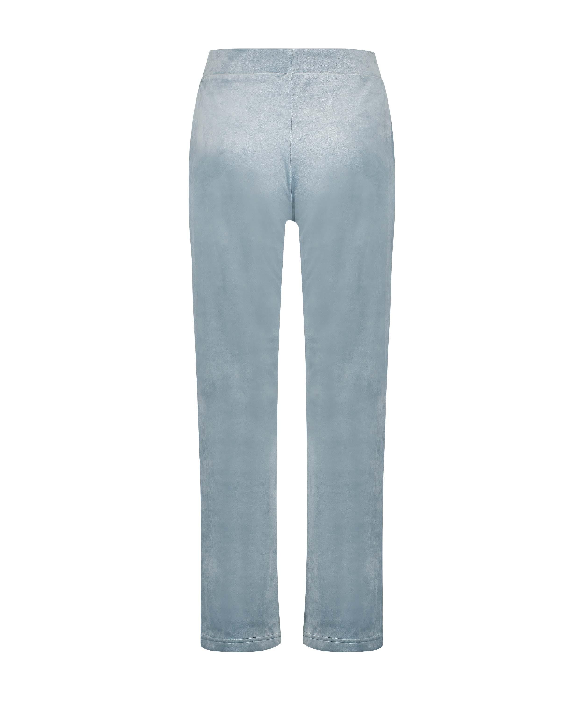Pantalón de jogging Terciopelo, Azul, main