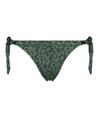 Braguitas de bikini Tonal Leo, Verde