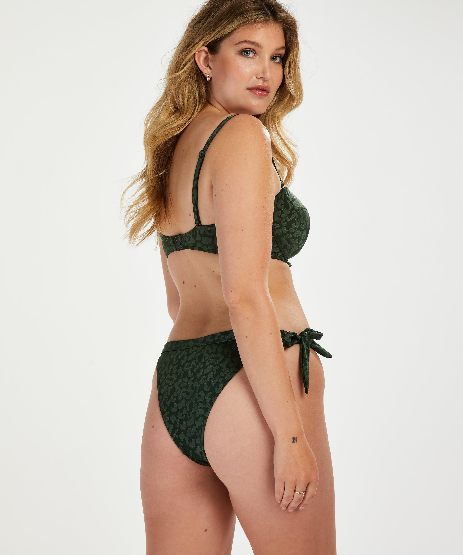 Braguita de bikini brasileña Tonal Leo, Verde, main