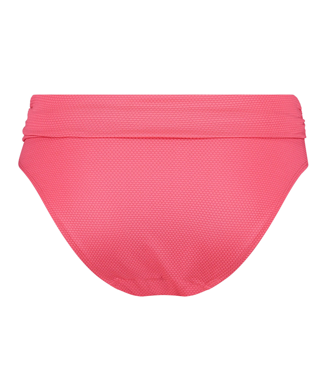 Braguita de bikini de corte alto Ruffle Dreams, Rosa, main