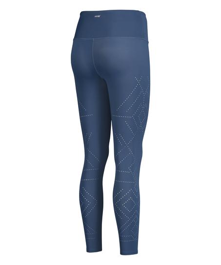 HKMX Legging deportivo de tiro alto Naira, Azul