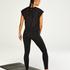 HKMX Mallas de cintura alta Make Me Zen , Negro