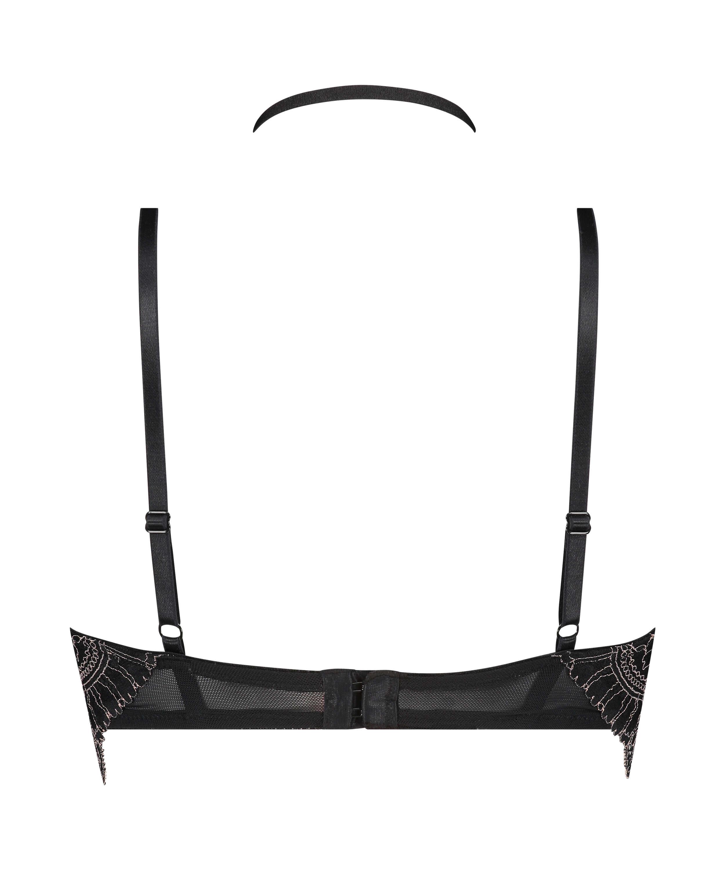 Sujetador longline de aros preformado Coco, Negro, main