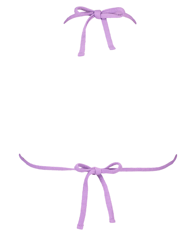 Top de bikini de triángulo Libby, Morado, main