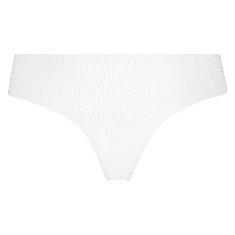 Braguita brasileña de algodón Invisible, Blanco, main