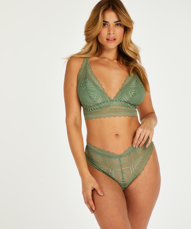 Bralette Filomena I AM Danielle, Verde, main