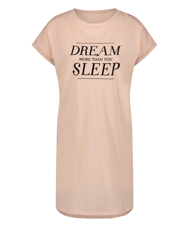 Camisón manga corta Dream, Rosa, main