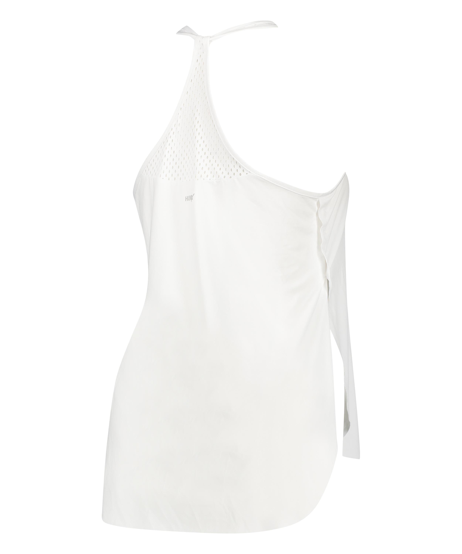 Camiseta sin mangas holgada de HKMX, Blanco, main