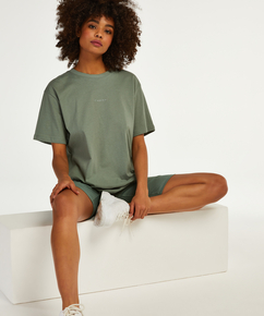 Conjunto de pijama corto Biker, Verde