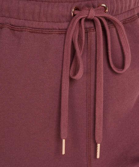 Pantalón para correr Petite Sweat French, Rosa