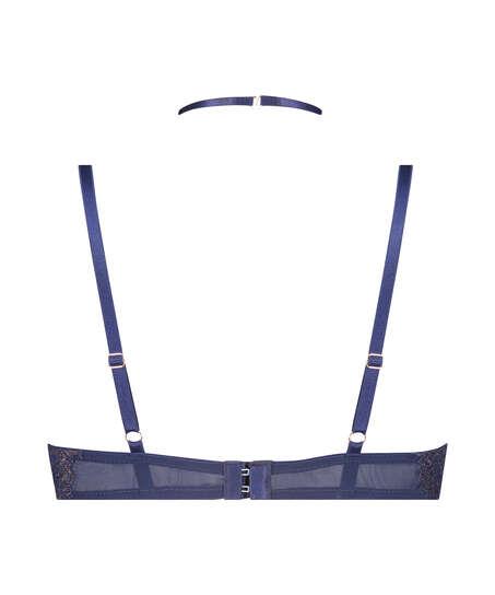 Sujetador longline de aros preformado Rya, Azul
