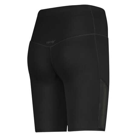 Mallas de ciclista de cintura alta HKMX Nivel 3, Negro