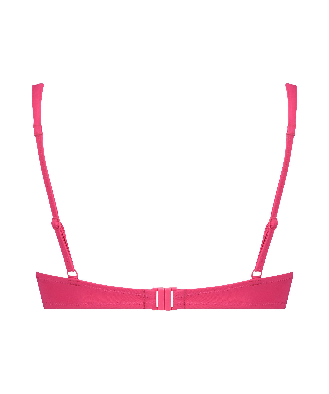 Top de bikini push-up Luxe Copa A - E, Rosa, main