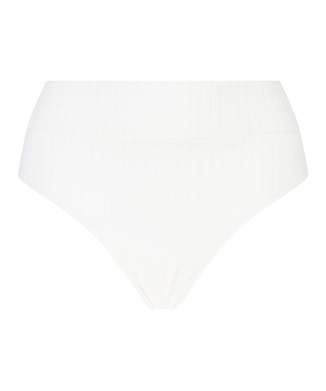 Braguita de bikini alta Emily, Blanco, main