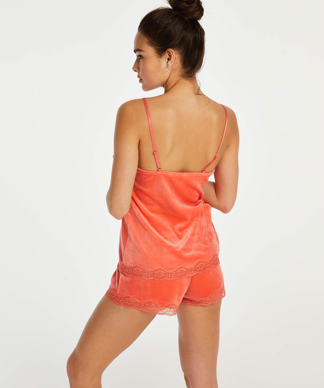 Camiseta Velours Lace, Naranja, main