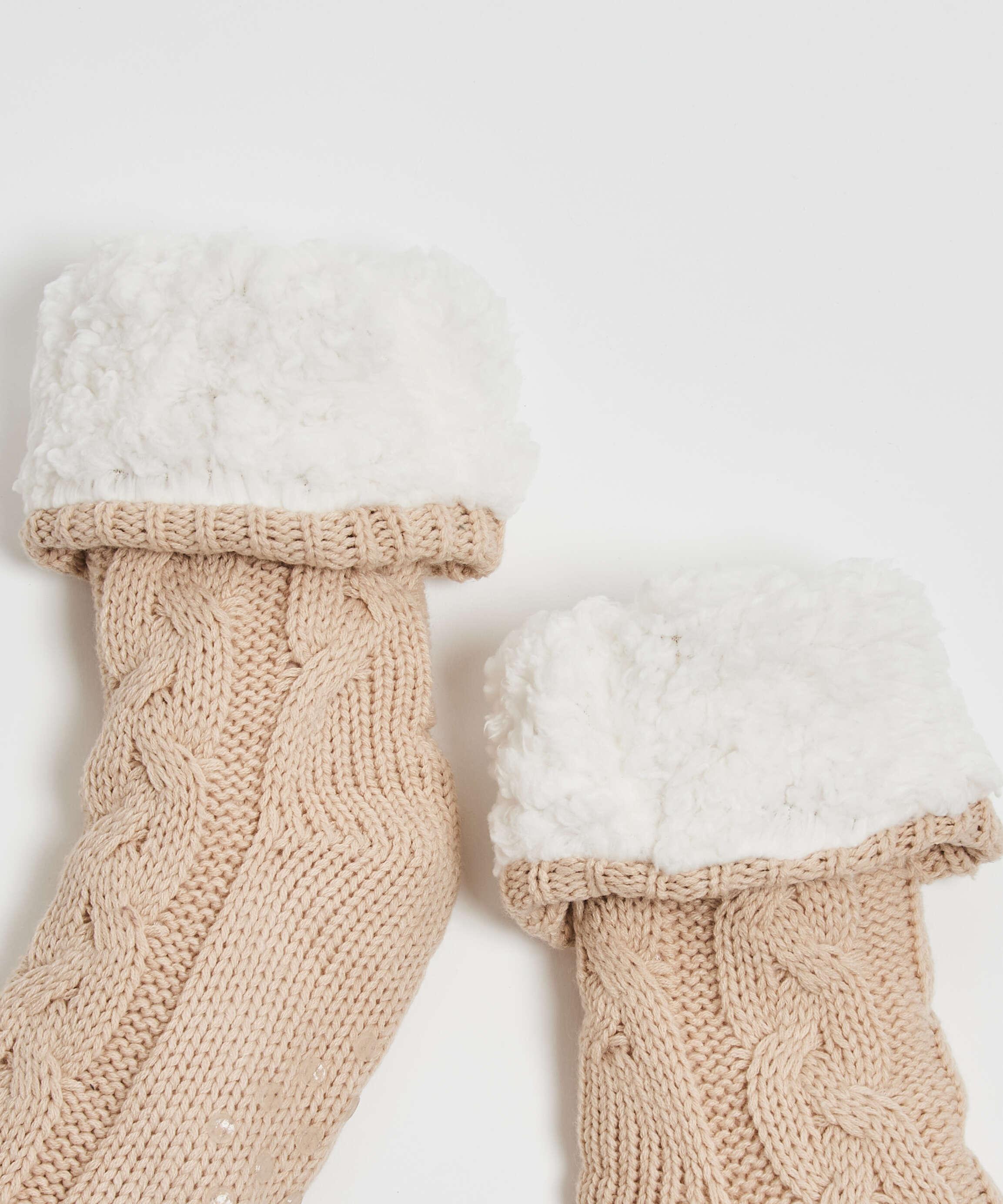 Calcetines de punto, Blanco, main