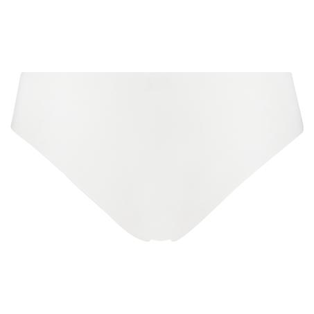 Braguita brasileña de algodón Invisible, Blanco